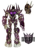 Shockwave concept colored by Ra88