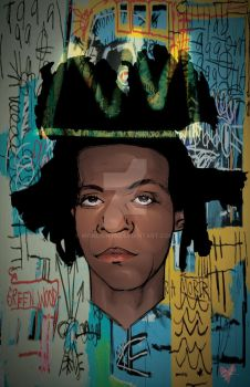 Basquiat by IronLion75
