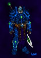 Warcraft - Death Knight IV by LiberiArcano