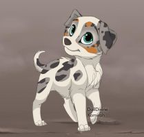 New Puppy from Kamirah's maker by ThechnoHusky92