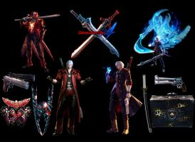 Desktop Devil May Cry 4 by guyverleon