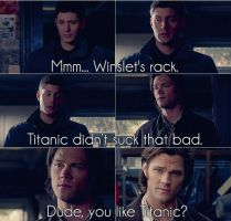 Funny Supernatural - Colored by me969