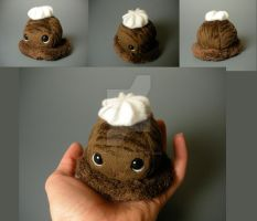 Lil Scoops: Chocolate with Whipped Cream by WhittyKitty
