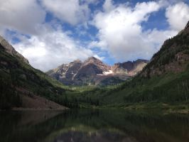 Maroon Bells by animefreak180