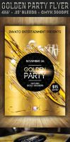 Golden Party - Flyer by ivelt