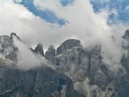 Clouds in Val Venegia by edelweiss26