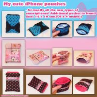 My new iPhone pouches by BlueDove415