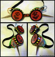 40K Ork Cybergoth Goggles by German-Blood