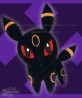 Umbreon Chibi by RonTheWolf