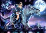 Mirana -The Princess of the Moon - DOTA 2 by Uryen