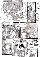 (title pending) collab comic pg 1 by HJeojeo