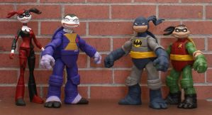 Batman Animated Series TMNT by goose360