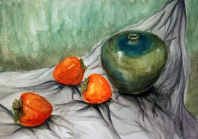 persimmons by nikolacocacola