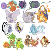My Pokemon - a dump, brought to you by Pepper by MrsDrPepper
