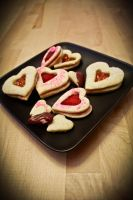 Valentine Sugar Cookies 2 by FlashBulbProductions