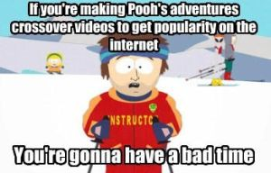 Ski instructor on Pooh's adventures by BlakeandAlex12