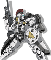Tallgeese Ready for action by Jeticus