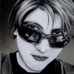 Girl in Shades by crimmy