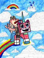 Binks and UniKitty by SonicClone