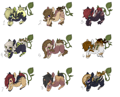 Finished Foals Batch 2 (CLOSED) by April-Cakes