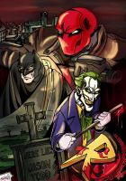 Under The Red Hood by xTERYLx
