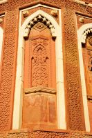 Agra Fort detail 1 by wildplaces