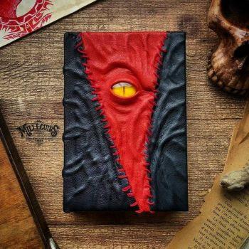 red patch necronomicon by MilleCuirs