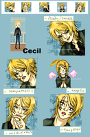 Gift: Cecil Avatars by elfgrove