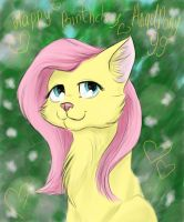 Kitty Fluttershy - Gift for AngelPony99 by Comsing8