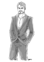 Tony Stark by Fennethianell