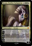 Zecora, Everfree Enchantress - MLP MTG by ManithMagesinger