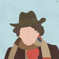 The 4th Doctor (Simplistic) by Geoffery10