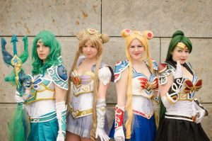 Battle Sailor Group Cosplay by Cynjya