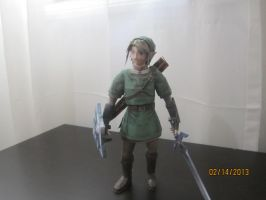 Twilight Princess Link papercraft by Odolwa5432