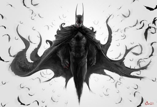 The Dark Knight by Epiclone