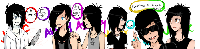 JTK and BVB by emoLove9900