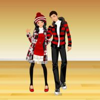 Friends dressup by Brandee-Ssj-Doll