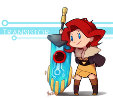 Transistor: Red by ky-nim