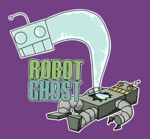 Robot Ghost by SillyStell