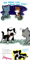 If Smudge Joined ThunderClan, not Rusty by DrawMachine030