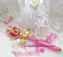 Sailor Moon Spiral Heart wand by Bunnymoon-Cosplay