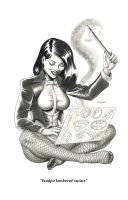 Zatanna Commission by LostonWallace