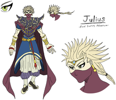 DFO Character Sheet - Julius, FFA by Sephiroth7734