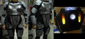 Mass Effect 3 Shepard cosplay WIP by Lily-pily
