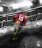 Wesley Sneijder #10 | Wallpaper (1527x1752px) by Crtfd