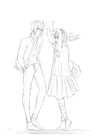 HEIGHT DIFFERENCE QTs by StuffedUrsidae