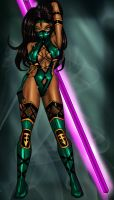 mk9 Jade colored by ElecoMoroco