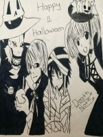 Death Note Halloween special by chirikoinu