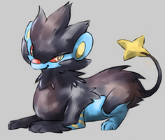 Luxray by krokus00