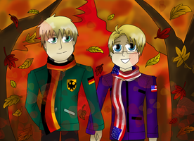CE: Germerica Autumn Love by TsundereViolet-Chan